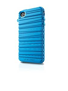 Musubo MU11002SE Rubber Band Case for iPhone 4/4S (Sky Blue)