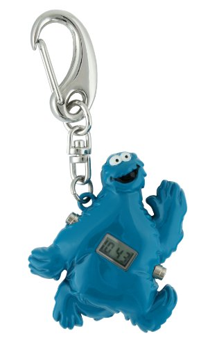 Sesame Street SW2501CM Cookie Monster Clip Watch