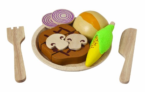 Plan Toys Planactivity Steak Set Play Set