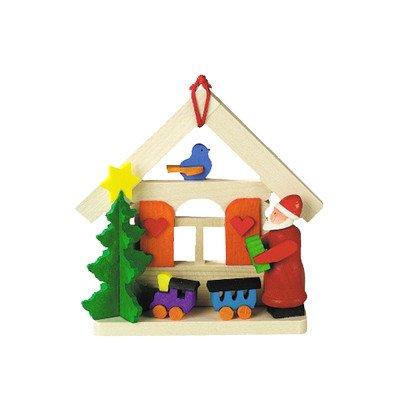 Alexander Taron Graupner Ornament Santa With Train/House