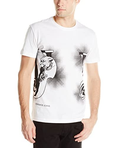 Versace Jeans Men's Long Sleeve Logo T-Shirt