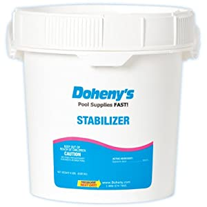 Doheny 39 s pool stabilizer conditioner 9 lbs swimming pool ph balancers patio for What is swimming pool conditioner