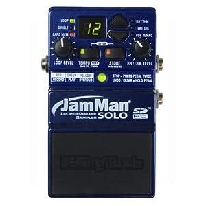 DigiTech JamManSolo Guitar Looper Pedal, Blue