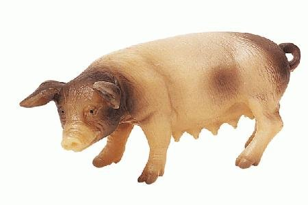 Bullyland Spotted Sow Pig Standing Toy Figure