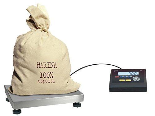 Balance plate-forme industrielle boulangerie 40 x 30 cm - capacité : 30kg lecture à 5g