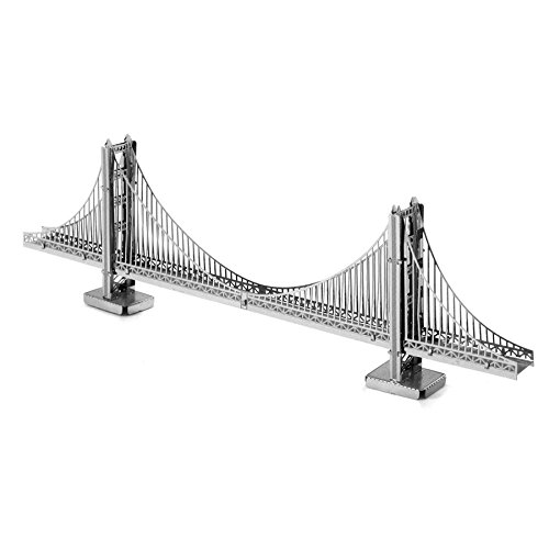 Metal Earth 3D Metal Model - San Francisco Golden Gate Bridge - 1