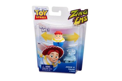 Disney Pixar Toy Story Zing'Ems - Jessie & Trixie 2-Pack - 1