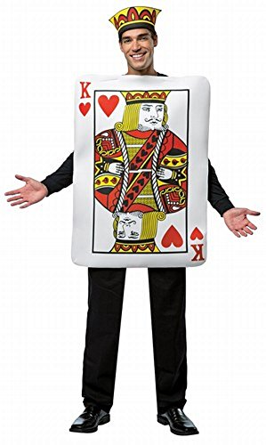 Adult Deluxe King of Hearts Costume