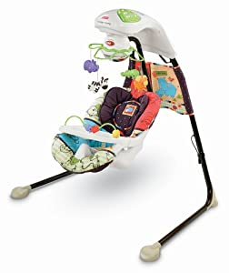 Amazon Com Fisher Price Cradle N Swing Luv U Zoo