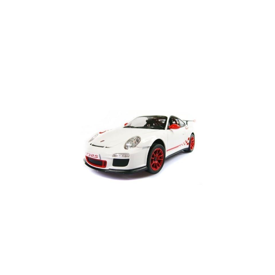 1/14 Scale Porsche 911 GT3 RS Radio Remote Control Car RC RTR White
