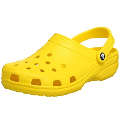 Amazon.com: Crocs Unisex Classic Clog,Yellow,Women's 6 M US/Men's 4 M