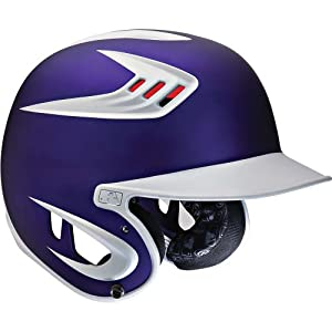 Rawlings Adult 80Mph Performance Rated Two-Tone Matte Batting Helmets by Rawlings