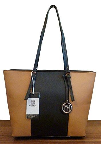 handtasche-shopper-leder-edmonton-ii-camel-schwarz-neu-uvp-72eur