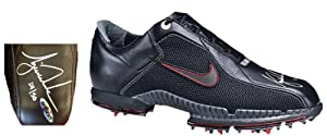 Tiger Woods Signed Autographed Nike Air Zoom Golf Shoes # 50 by UDA