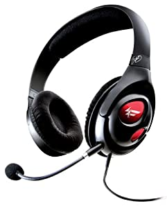 Creative Labs HS-1000 Fatal1ty USB Gaming Headset with Sound Blaster X-Fi Technology (Black)