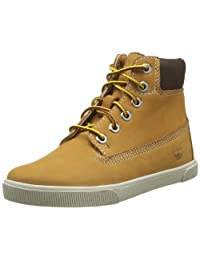 Timberland Earthkeepers Lace Zip Youth Wheat Nubuck Boots