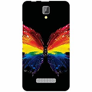 Back Cover For Lenovo A2010 (Printed Designer)