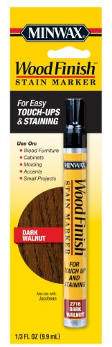 Minwax 63487 Wood Finish Stain Marker Interior Wood, Dark Walnut