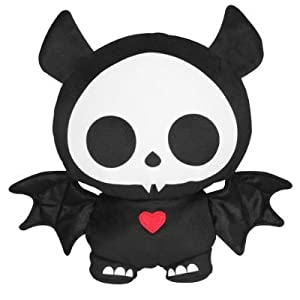 "Skelanimals Glow in the Dark - Diego the Bat 8.5"" Plush"