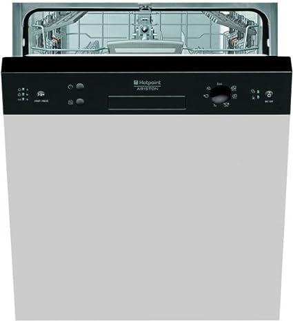 Hotpoint-Ariston LSB 7M121 B EU lave-vaisselle - lave-vaisselles (Semi intégré, A, A++, Noir, boutons, Rotatif, A)