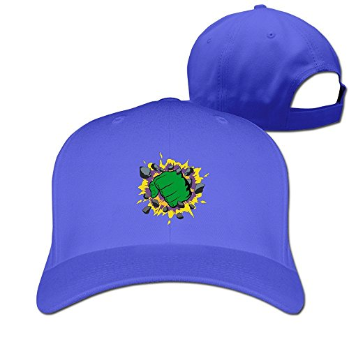 fashion-adult-the-fist-of-green-giant-travel-cap-hats-ash-royalblue