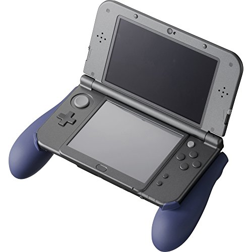 rubbercoated grip new for 3ds ll navy cybergadget japan