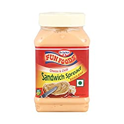 Fun Foods Sandwich Spread -Cheese and Chill, 275g Bottle