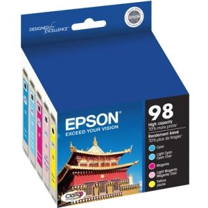 Epson 98 T098920 Color Ink Cartridges, Claria High-Yield Ink (Epson 99 Ink Magenta compare prices)
