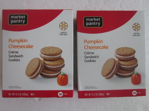Pumpkin Cheesecake Creme Sandwich Cookies Limited Edition 2-Pack
