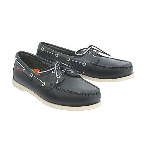 SLAM - Chaussures bateau Prince - Bleu Navy, 44