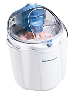 Hamilton Beach 68320 1-12-quart Capacity Ice Cream Maker White by Hamilton Beach
