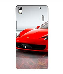 Crazymonk Premium Digital Printed 3D Back Cover For Lenovo A7000