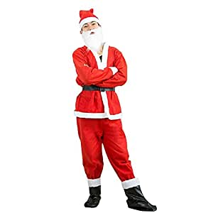 Toyshine Santa Claus Dress Costume for children Size No. 1 (For ages 5 Months to 1 Year)