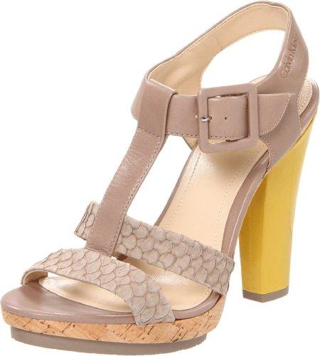 Calvin Klein Women's Bea Platform Sandal