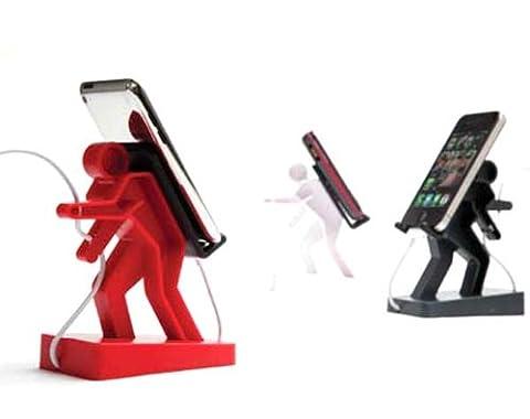 Ami Drach & Dov Ganchrow スマートフォン iPod 用スタンド BORIS(Red)