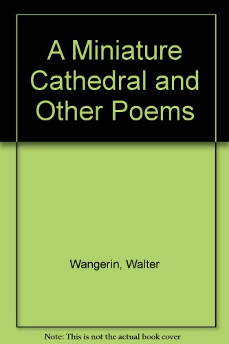 A Miniature Cathedral and Other Poems PDF