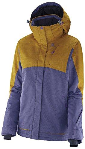 SALOMON(サロモン) レディーススキージャケット シャッセ ジャケット L36602600 ARTIST GREY-X×YELLOWSTONE S