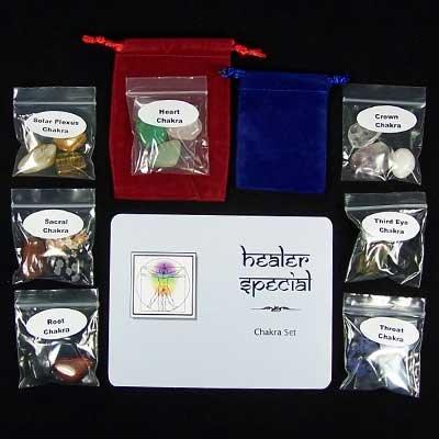 21 Chakra Healer Special Set - Discount Assortment - 21pc. Bag