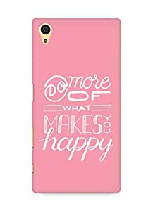 AMEZ do more of what makes you happy Back Cover For Sony Xperia Z5