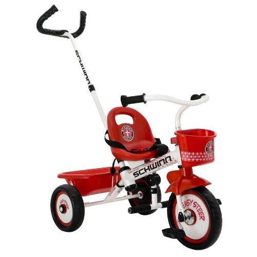 Schwinn Easy Steer triciclo, Blanco