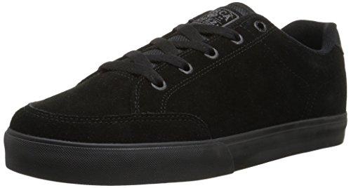 C1RCA Men's AL50 Slim Skateboard Shoe, Black/Shale, 10 M US (Lopez Shoes compare prices)