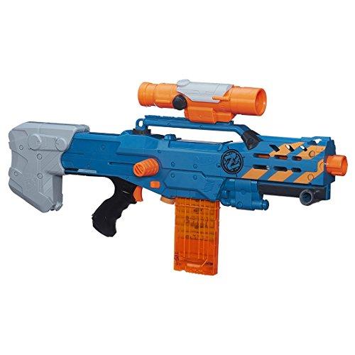 Nerf Zombie Strike ZED Squad Longshot CS-12 Blaster (Cs Po compare prices)