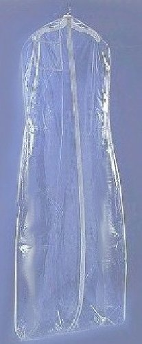 Brand New CLEAR Wedding Bridal Dress Garment Bag 24 X 72