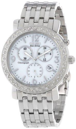 citizen-eco-drive-femme-38mm-chronographe-date-mineral-verre-montre-fb1290-58a
