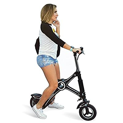 Xcooter Smallest Electric Folding Scooter Urban Rider Adult Lightweight Portable Scooter Battery Powered