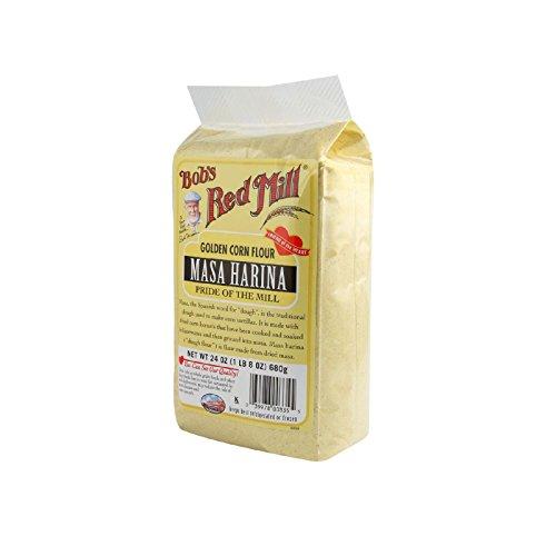 Bobs Red Mill Golden Masa Harina Corn Flour - 24 oz - Case of 4 (Golden Masa Harina Corn Flour compare prices)