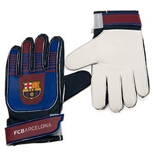 Amazon.com : Kids Goalkeeper Gloves - F.C Barcelona ...