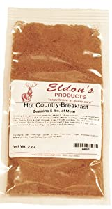Eldon's Sausage and Jerky Supply Hot Country Sausage Seasoning, 0.13 Pound from Eldon's Sausage and Jerky Supply