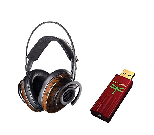 Audioquest Nighthawk Headphones and Dragonfly RED Bundle (Dragonfly Audio Quest compare prices)