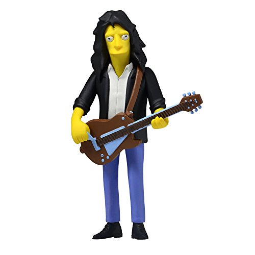 "NECA Simpsons 25th Anniversary Series 4 Joe Perry 5"" (Aerosmith) Celebrity Action Figure - 1"